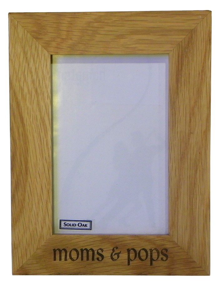 """England"" Oak photo frame 6"" x 4"""