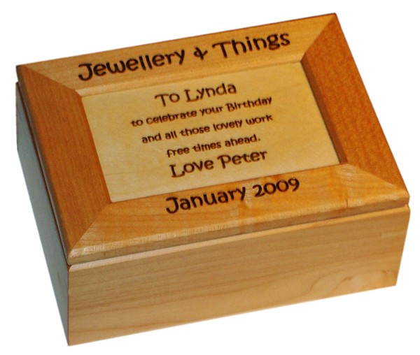 Maple Keepsake Box