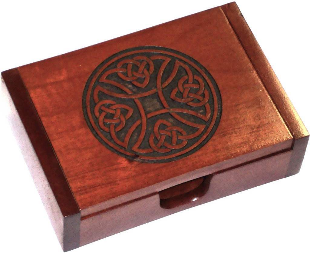 Rosewood Card Box