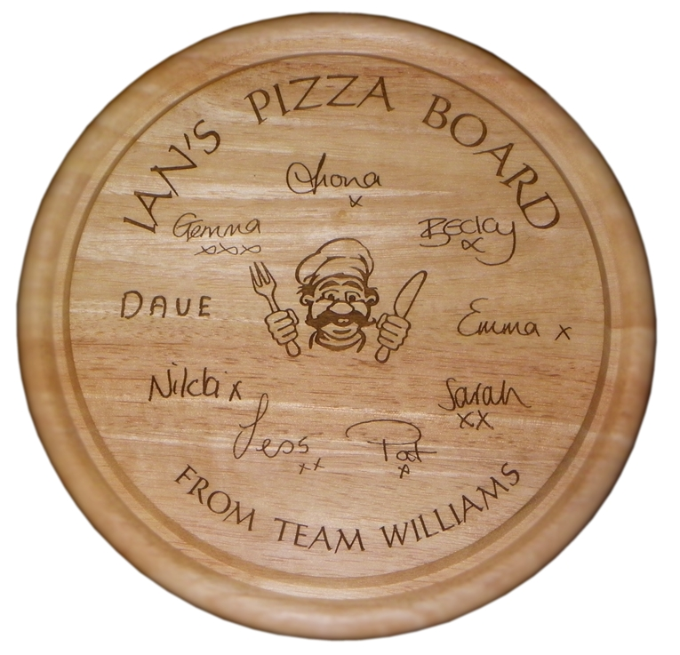 Round Bread Board