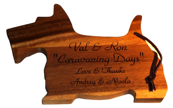 Dog Chopping Board
