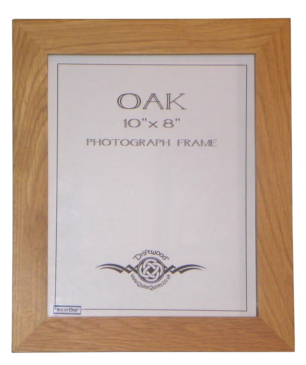 """England"" Oak photo frame 10"" x 8"""