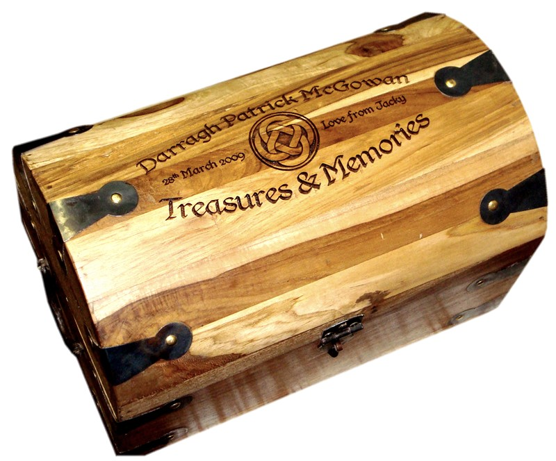 "Treasure Chest (Medium) 11"" x 7"" x 8"""