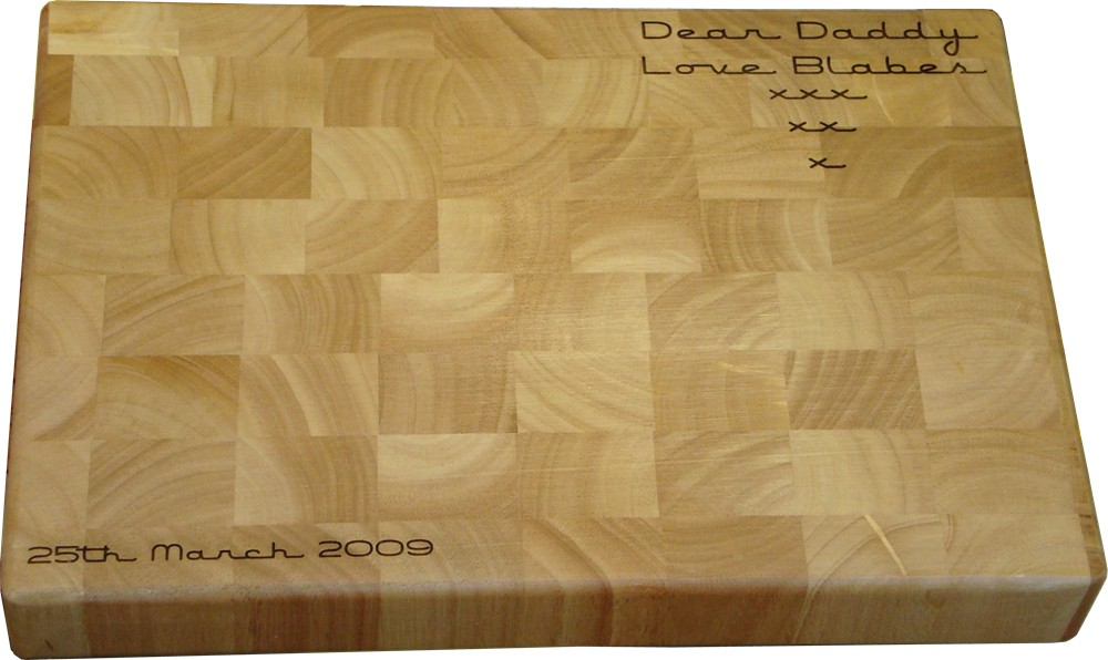 Large end-grain Chopping Board
